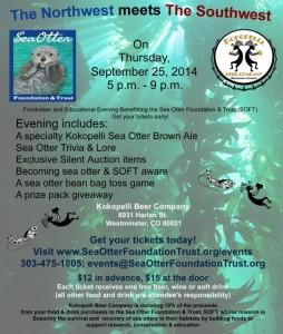 Sea Otter Awareness @ Kokopelli Beer Company